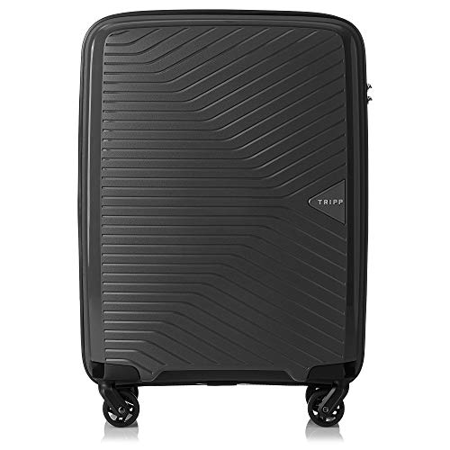 Tripp Black Chic Cabin 4 Wheel Suitcase