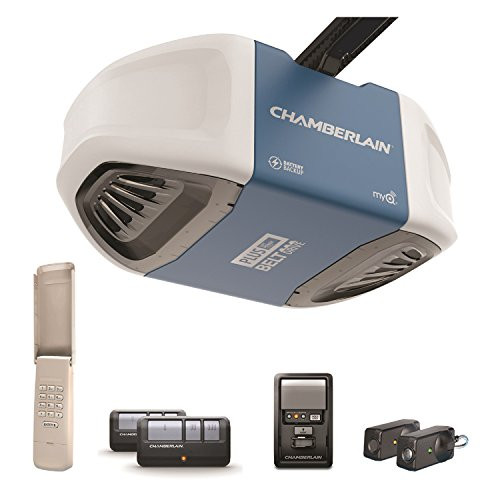 Chamberlain Group B730 Ultra-Quiet and Strong Belt Drive Garage Door...