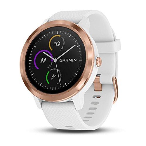 Garmin Smartwatch Vivoactive 3 GPS Mano Ciclismo Unisex Adulto, Blanco...