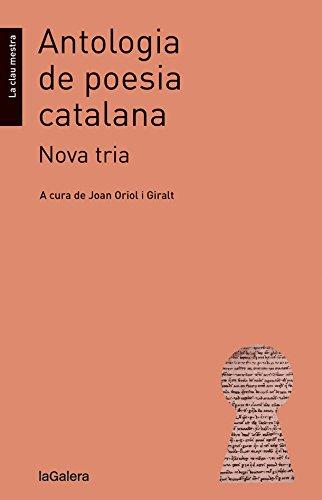 Antologia de poesia catalana. Nova tria: 15 (La clau mestra)