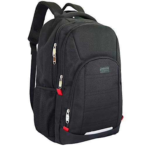 OUTON Large Capacity Laptop Backpack, Business Rucksack with USB Charging Port, Travel Casual Daypack, College School Computer Bag for Women Men Boy Girl, Fits 13/14/15/15.6/17 Inch Laptop Notebook