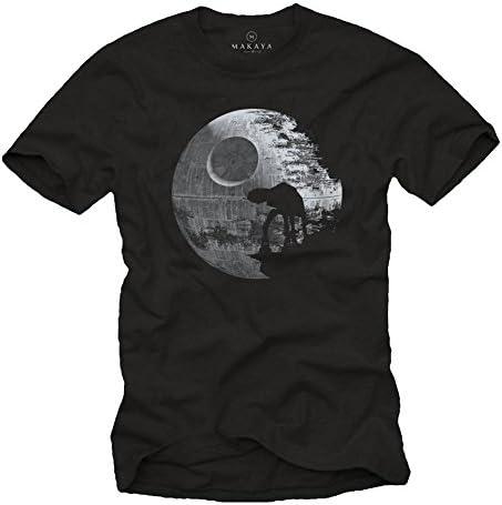 MAKAYA Camisetas Frikis - Hombre