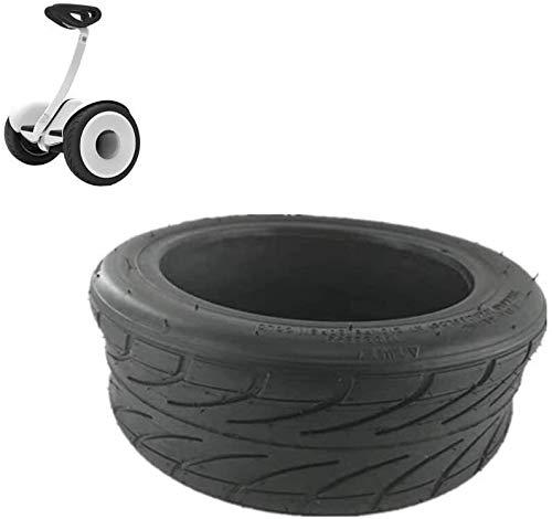 Neumáticos Scooter eléctrico, 70 / 65-6.5 interior y exterior Neumáticos, inflación de ángulo recto, antideslizante y resistente al desgaste, conveniente for el N ° 9 Equilibrio accesorios del coche N
