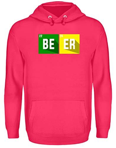 Generieke Beer Bier Chemisch symbool Party groepen motief - eenvoudig en grappig design - Unisex capuchontrui hoodie