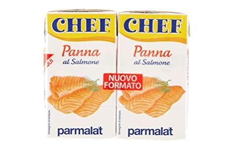 24x Parmalat Panna Chef al Salmone Sahne Kochcreme creme mit Lachs 2x125ml