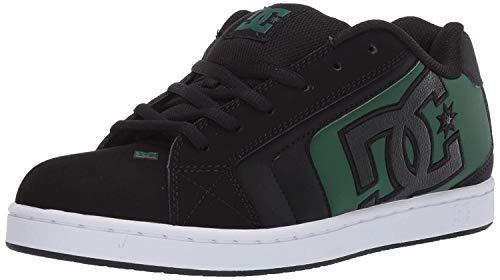 DC Shoes Net - Leather Shoes for Men - Schuhe - Männer - EU 44 - Schwarz