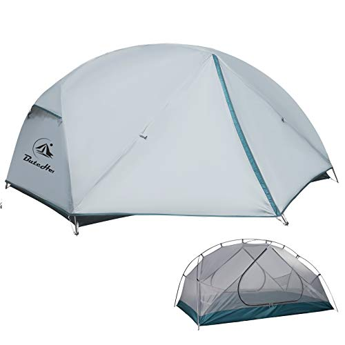 ButcHer Tent Lightweight 2 Person Camping Tent,Easy Set Up Ultralight Waterproof Windproof Backpacking Tent,3-4 Seasons Two Doors Large Size Tens for Camping,Hiking & Outdoor Music Festivals