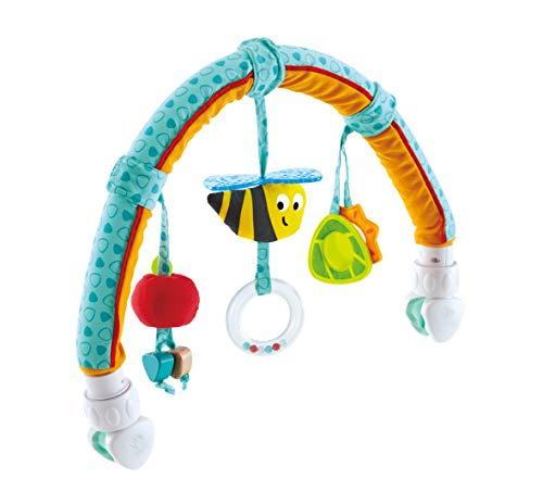 Hape- Arco de Actividades Amigos del jardín, Color Turquesa (E0023)