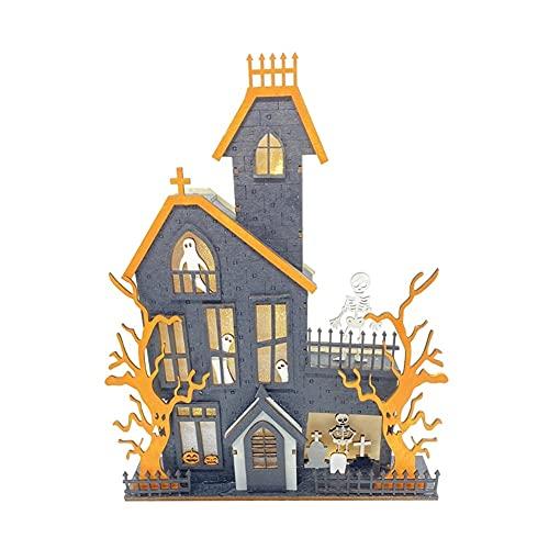 BYZYA Decoraciones de Mesa de Halloween, Accesorios de Halloween, Centros de Mesa de Mesa Fantasma encantada con la Cocina para la Cocina para el hogar