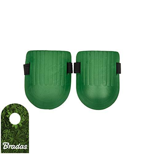 Bradas Knieschoner Knieschützer 19x15cm Schutzausrüstung für Gartenarbeit Knieschutz Kneepads Garten-Beet 9500