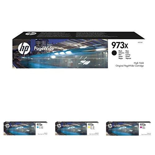 Set aus orginal HP XL Druckerpatronen in Magenta, Schwarz, Cyan und Gelb