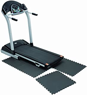 Marcy Interlocking Waterproof Flooring Mat for Exercise Equipment & Accessories MAT-20