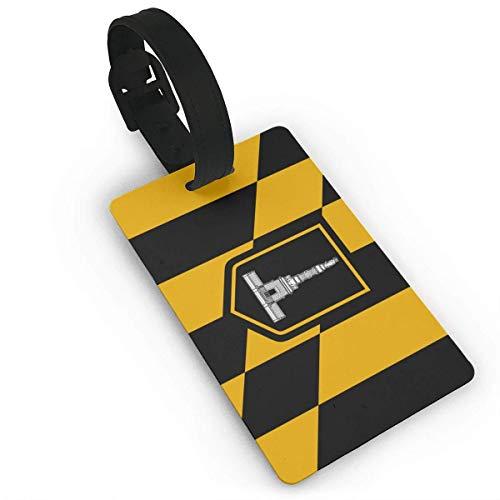shenguang Flag of Baltimore Luggage Bag Tags Travel Tags Travel ID Tag