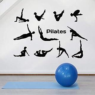 Sports Pose Wall Decal Lifestyle Yoga Pose Gymnastics Sports Decoration