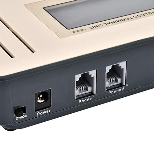 Terminal inalámbrico fijo, con sistema de alarma inalámbrico GSM de pantalla grande, para teléfonos públicos domésticos(Dual band, European standard (100-240V))
