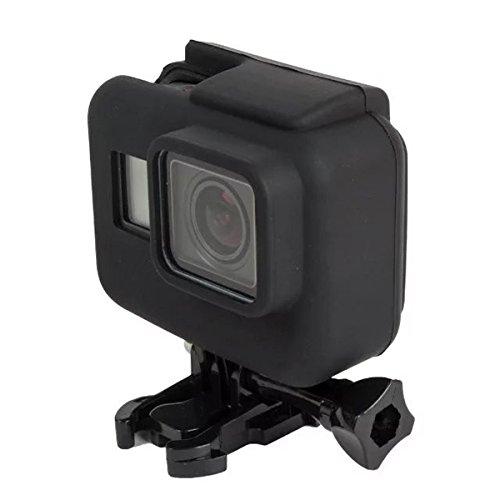 MASUNN Camera Frame Zachte Siliconen Hoesje Beschermend Frame voor Gopro Hero 5 Action Camera Accessoires