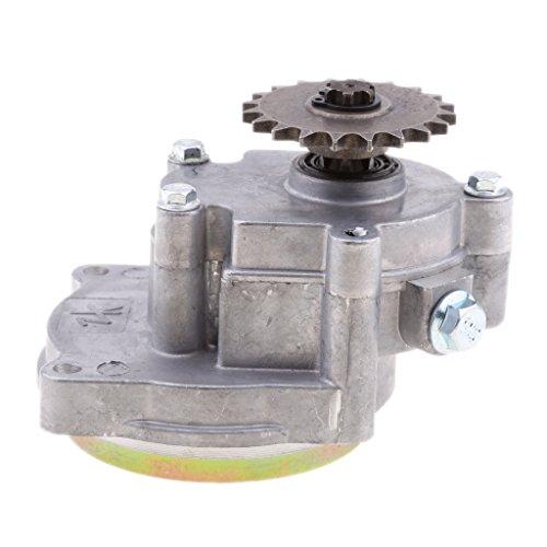 LOVIVER Caja de Engranajes de Transmisión para Motor de 2 Tiempos 49cc Mini Motor Bike ATV