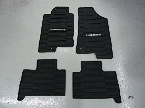 Coverking Custom Fit Rear Floor Mats for Select Cadillac SRX Models Nylon Carpet Black