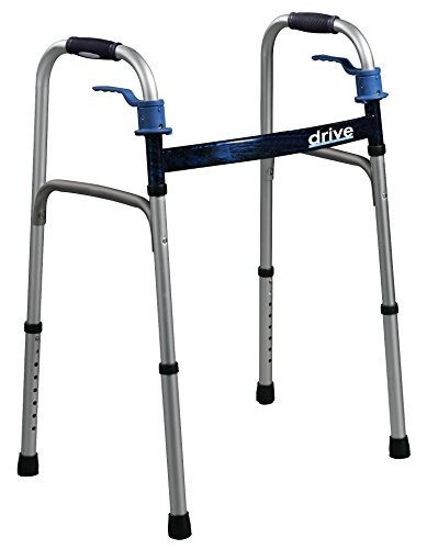 Complete Medical Walker Folding Adult Trigger Release Drive, 27.6 Pound