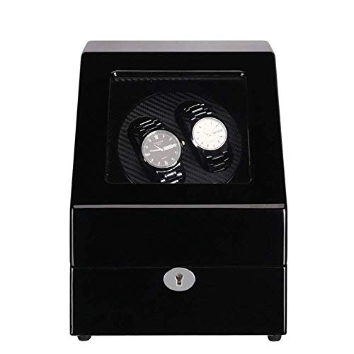 CLJ-LJ Caja de Reloj, exhibición del Reloj Caja Swaying Mesa de agitación de la Placa giratoria del Motor Premium silencioso Motor Movimiento for Relojes automático Compatible, una (Color : B)