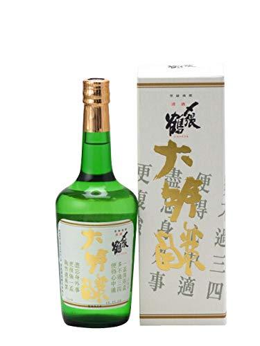 宮尾酒造『〆張鶴 大吟醸 金ラベル』