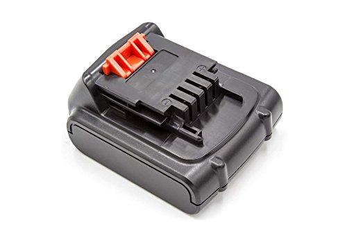 vhbw Li-Ion Akku 2000mAh (14.4V) für Werkzeuge Black & Decker ASL146, ASL146BT12A, ASL146K wie Black & Decker BL1114, BL1314, BL1514, LB16.
