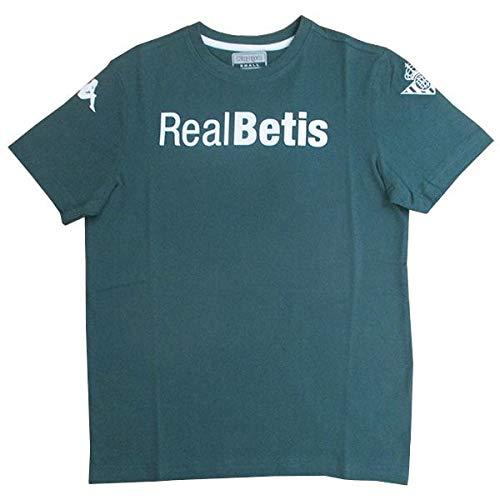 Kappa Camiseta Real Betis ALAR Verde Hombre Temp. 2019/20 - Talla M