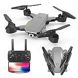 XUANMO Mini Plegable Fotografía aérea Aviones no tripulados es...