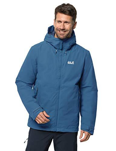 Jack Wolfskin Herren Argon Storm Jacket M Wetterschutzjacke, indigo blue, XL