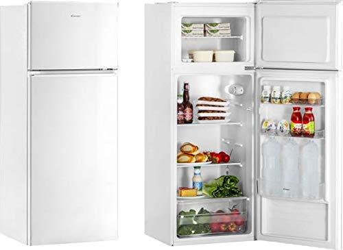 Candy CMDD 5142 WMC – Réfrigérateur double porte statique, libre, 204 litres Classe A+