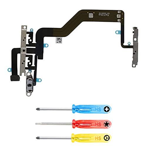 MMOBIEL Botón de Power On/Off y Volumen Conector Flex Compatible con iPhone 12 Mini - 5.4 Inch Incluye 3 Destornilladores