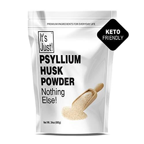 It's Just - Psyllium Husk Powder, Non-GMO, Dietary Fiber, Keto Baking (24oz)