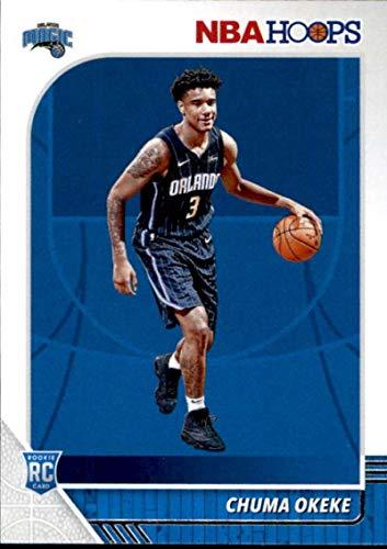 2019-20 Panini NBA Hoops #213 Chuma Okeke Orlando Magic Rookie Basketball Card