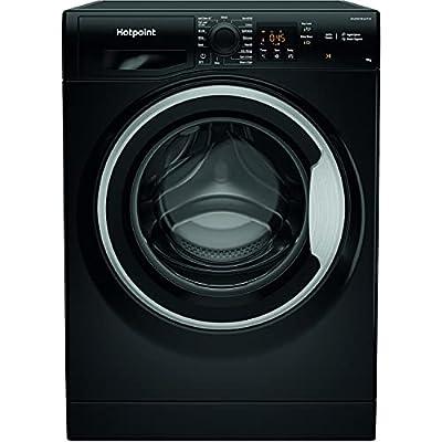Hotpoint NSWM943CBSUKN 9kg 1400rpm Freestanding Washing Machine - Black