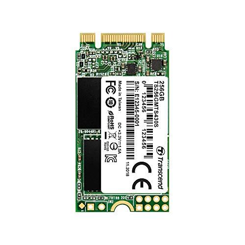 Transcend SSD M.2 2242 256GB SATA III 6Gb/s 3D TLC NAND DDR3 DRAMキャッシュ搭載 5年保証 TS256GMTS430S