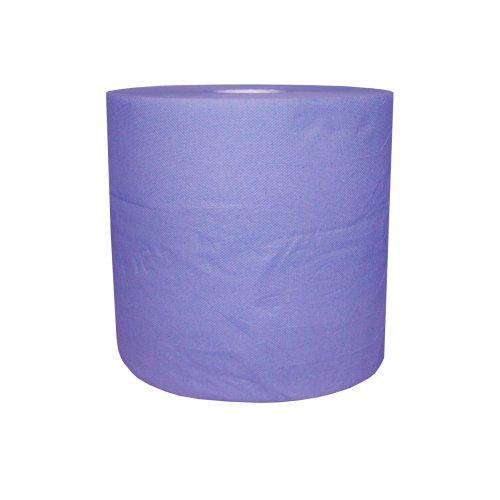 1 Putztuchrolle blau 2lagig 22 cm breit ca.110 m lang Werkstattpapier R125