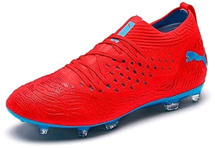 Puma Future 19.2 Netfit FG/AG, Zapatillas de Fútbol Unisex Adulto, Rojo (Red Blast-Bleu Azur), 42.5 EU