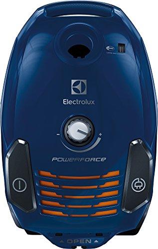 Electrolux EPF62IS - Aspirador de Remolque con Bolsa, Filtro Lavable, 700 W, 3,5 litros, 76 decibelios, Color Azul