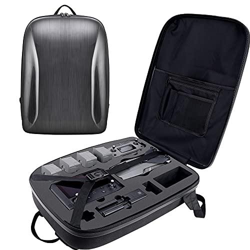 Honbobo Mochila para dji Mavic 2 Pro, Mavic 2 Pro/Zoom Drone y Accesorios Bolsa de cáscara Dura Bolsa de Almacenamiento Estuche de Transporte Impermeable (Dark Gray)