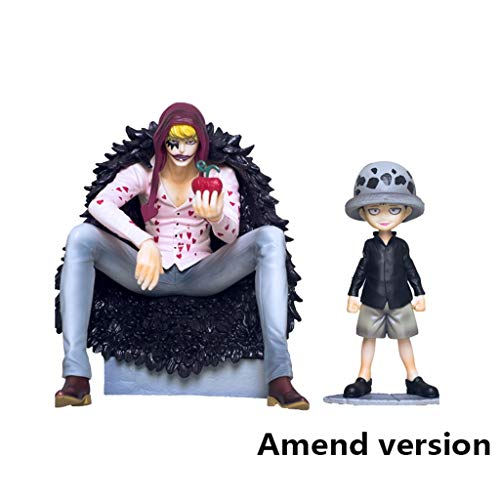 Lilongjiao One Piece: Trafalgar Ley de Infancia y Corazón de PVC Figura -Alta 6.2 Pulgadas