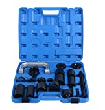 8MILELAKE 21Pc Universal Ball Joint Repair Removal Tool Kit Remover Installer Adapter Tools