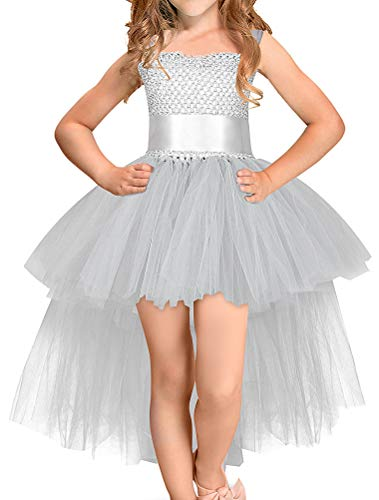 Odziezet Bébé Halloween Noël Fille Robe Performance en Dentelle Princesse Cosplay Halloween Déguisement en Tulle pour Carnaval Fête 2-8 Ans