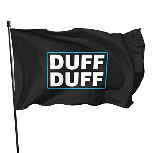 Banderas de cerveza de Duff, de 3 x 1,5 m