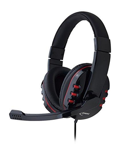 Gembird MHS-402 Stereo Headset schwarz/rot