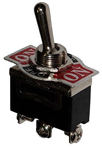AERZETIX: Interruttore a levetta SP3T ON-OFF-ON 10A/250V switch 3 posizioni C10659