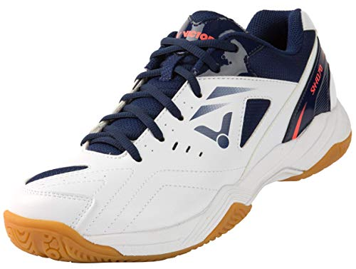 VICTOR Unisex SH-A170 Badminton-Schuh, Weiß/Blau, 43 EU