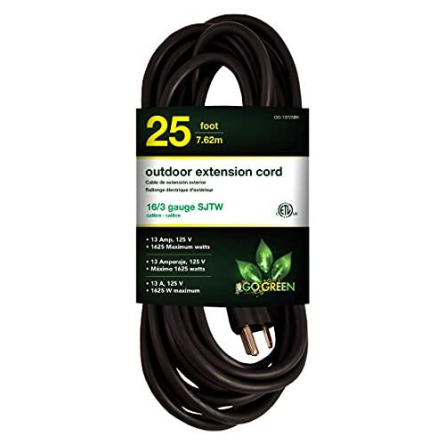 Go Green Power GoGreen Power GG-13725BK 16/3 25