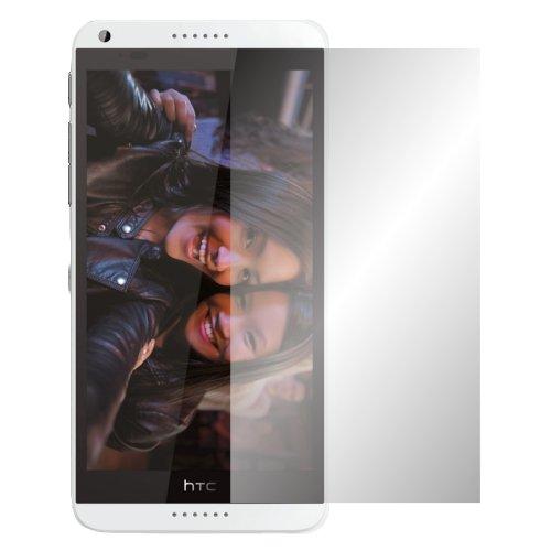 Slabo 2 x Bildschirmschutzfolie HTC Desire 816 Bildschirmschutz Schutzfolie Folie Crystal Clear unsichtbar Made IN Germany