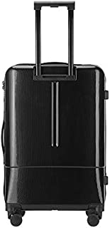 Trolley Case20 Inch Fashion Zipper Glossy Men's Suitcase Trolley Universal Wheel Personality Luggage,A,20inches