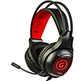 PS5 Gaming Headset with 7.1 Surround Sound, Mute Microphone and RGB LED Light, Compatible with PC, Xbox One, PS5, PS4, Nintendo Switch, Mac, (RED)